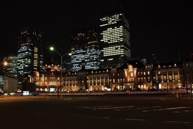東京駅の夜034