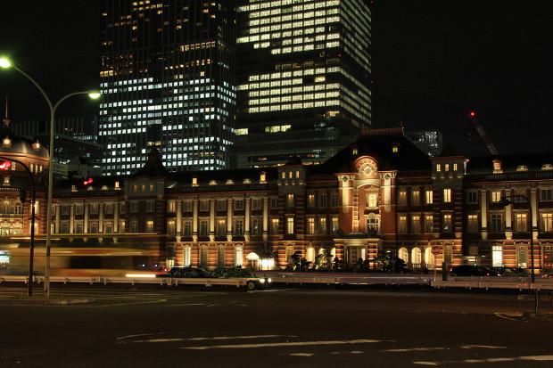 東京駅の夜036