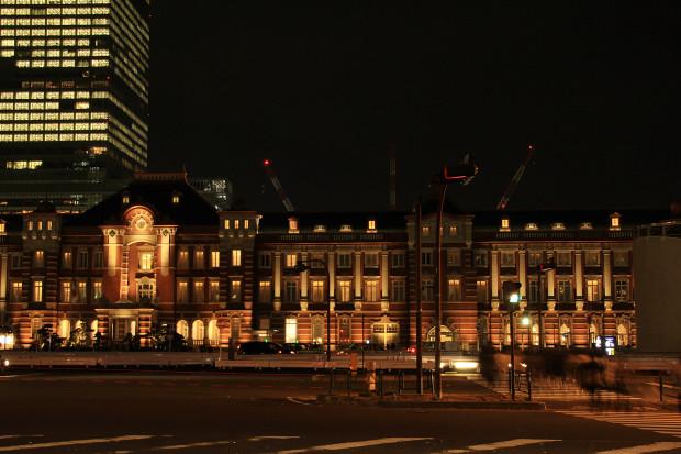 東京駅の夜037