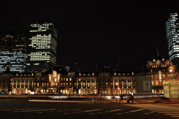 東京駅の夜038