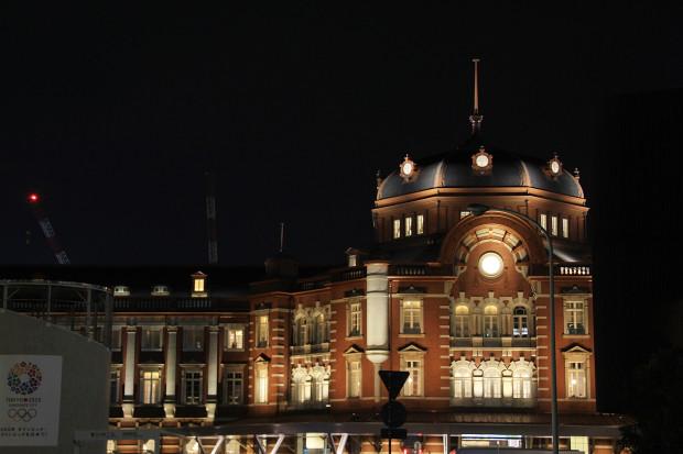 東京駅の夜041