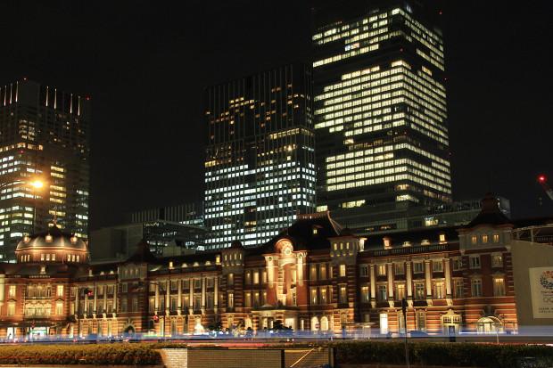 東京駅の夜044
