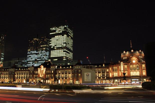 東京駅の夜045