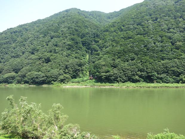 滝、森林(白色の滝)014