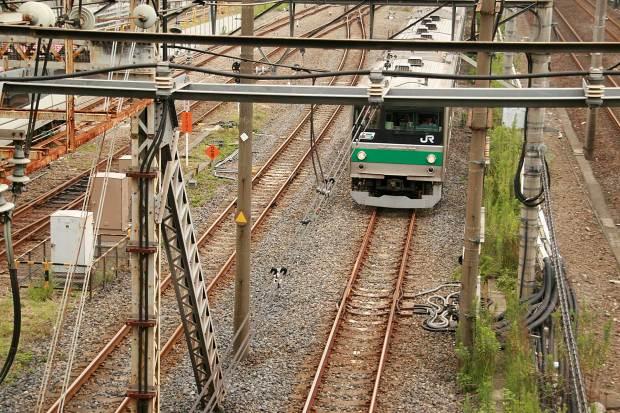 池袋路線 電車と線路002