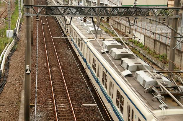 池袋路線 電車と線路003
