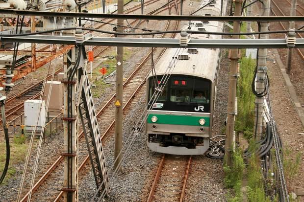 池袋路線|電車と線路007