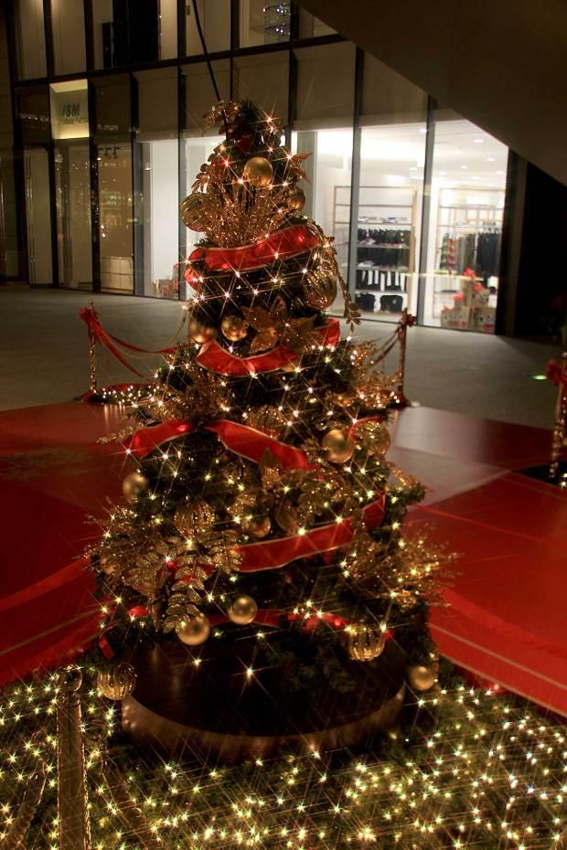丸の内クリスマスイルミネーション|クリスマスツリー061