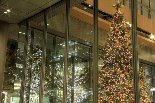 丸の内クリスマスイルミネーション|クリスマスツリー070