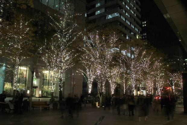 丸の内クリスマスイルミネーション|クリスマスツリー092