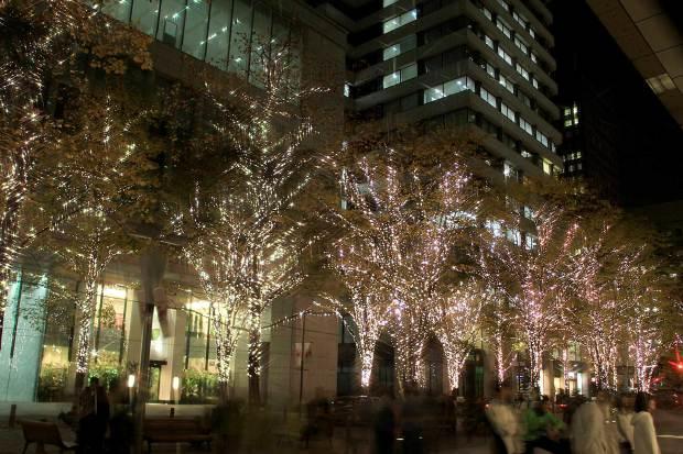 丸の内クリスマスイルミネーション|クリスマスツリー093
