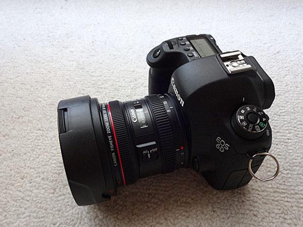 EOS 6Dに装着