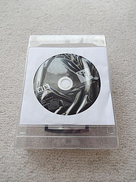 キャリブレーションソフト『i1 Profiler』のCD